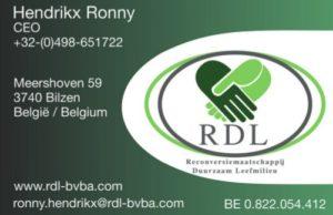 Hendrikx Ronny CEO RDL-bvba©-www.rdl-bvba.com